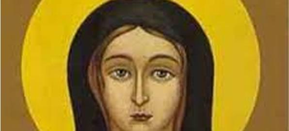 Santa Eufrásia - Santo do dia 13 de Março